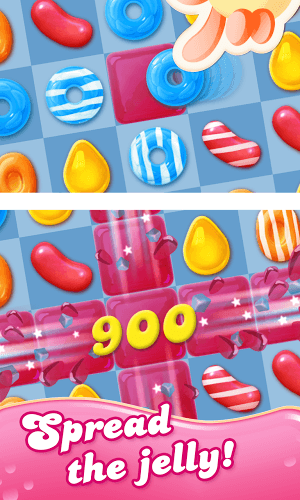 เล่น Candy Crush Jelly Saga on PC 3
