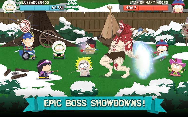 Играй South Park: Phone Destroyer На ПК 20