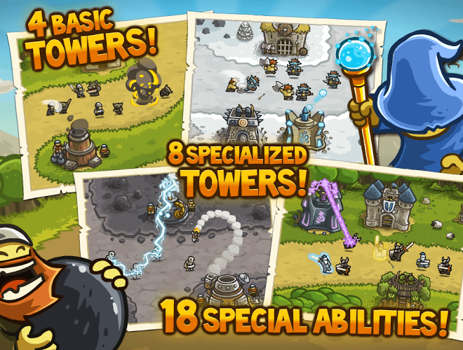 Играй Kingdom Rush На ПК 9