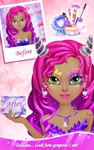 Chơi Makeup Salon: Princess Party on pc 10